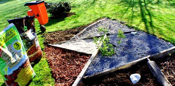 brule herbe jardin