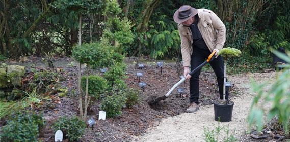 Jardin d 39 hubert jardins des fontaine for Jardin hiver plantation